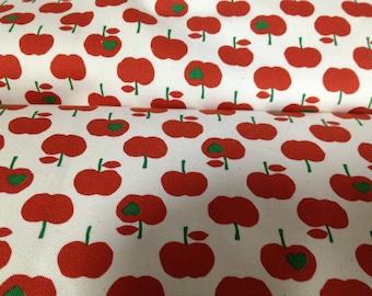 APPLE  printed One yard Japanese fabric