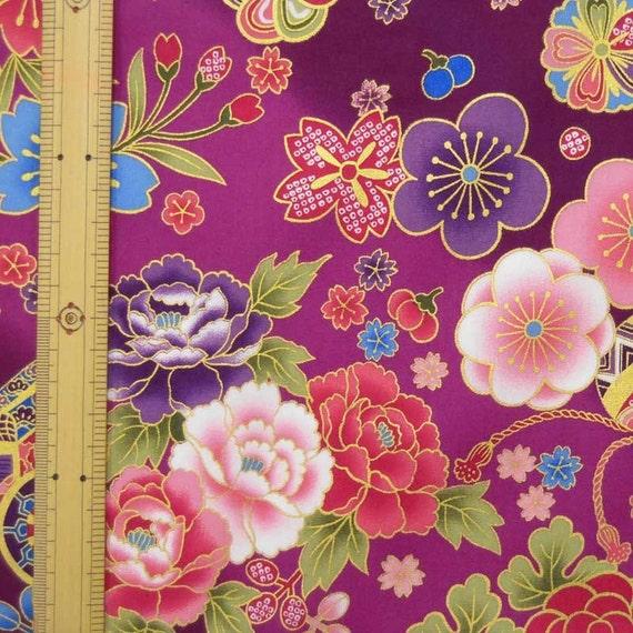 Japanese Design Fabric Japanese Kimono Design Fabric