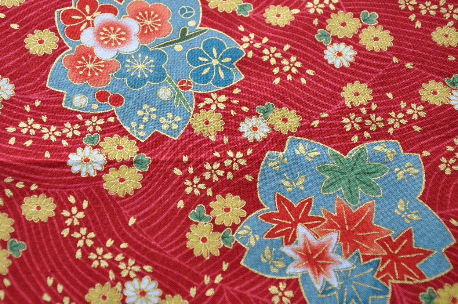 Japanese Kimono design fabric fat quarter