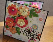 Scrapbooking Mothers Day Gift 6x6 Accordion Premade Pages Album