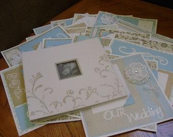 WEDDING Album- 10 double pages12x12 Scrapbook Photo Album -HotCocoaPhotoBooks