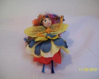 Forest Faerie Faylinn OOAK Fairy Doll