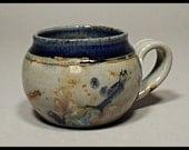 Round  Blue  Mug