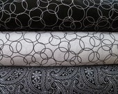 Tuxedo Yard Bundle Moda quilting fabric by Print Concepts (3 yards)