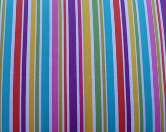 Michael Miller Quilt Fabric Cocoa Berry - That's All Stripe in Berry CX4956