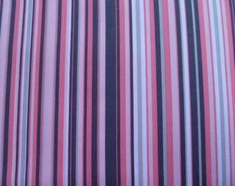 Michael Miller Quilt Fabric It's a Girl Thing - Play Stripe in Bloom CX3137