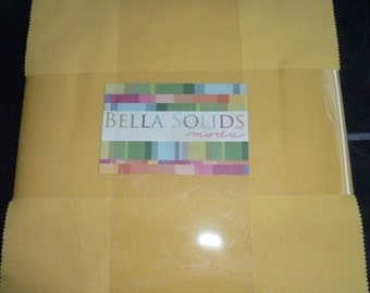 SALE - Bella Solids Moda Layer Cake - 30's Colours - 10 inch quilting fabric squares - CLEARANCE