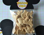 MIckey Mouse Ears Treat / Party Favor Thank You Goodie Bags (Set of 20)