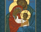 Icon of the Holy Family Print - Catholic Religious Art