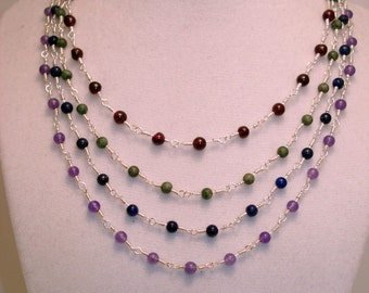 Custom Gemstone Necklace
