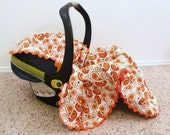 All-Star Paisey Car Seat Blanket....it goes inside.