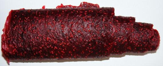 Raspberry / Cranberry blend Fruit Leather
