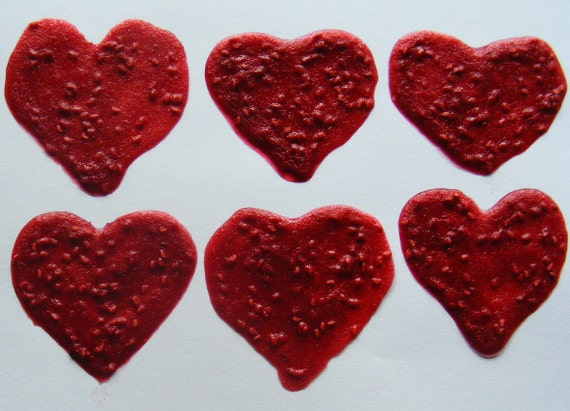 FUN TO EAT (8/pk) Heart -Shaped Fruit Leather