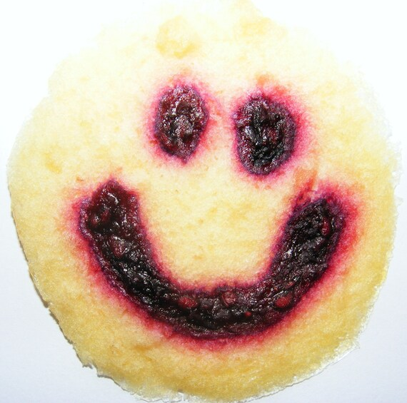HAPPY Snacks (5 per pack) -fruit just got more FUN Smiley face fruit leather treats