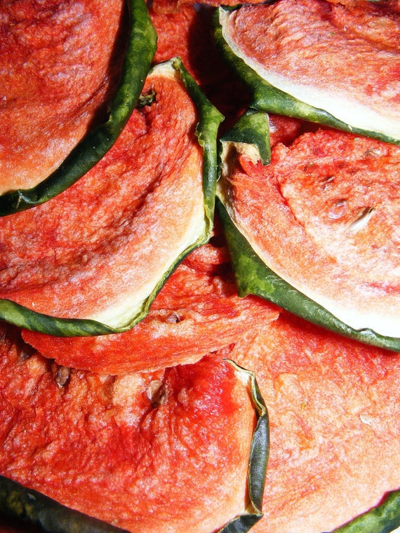 Dehydrated Watermelon Slices
