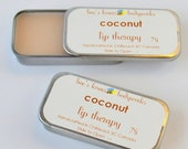 Lip Balm, Coconut Lip Therapy