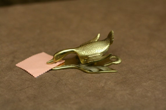 Vintage Mallard Paper Clip