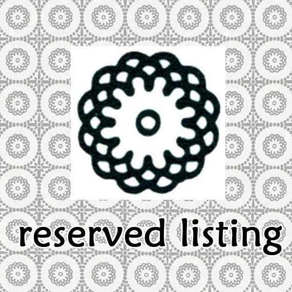 Reserved Listing for Melissatx