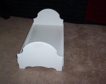 Doll bed fits American girl 18 inch dolls