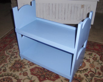 Doll bunk bed for american girl 18 inch dolls periwinkle
