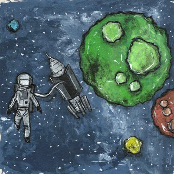 Space Walk - Astronaut
