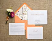 DIY Wedding Invitations - Tiffany Style - Customizable