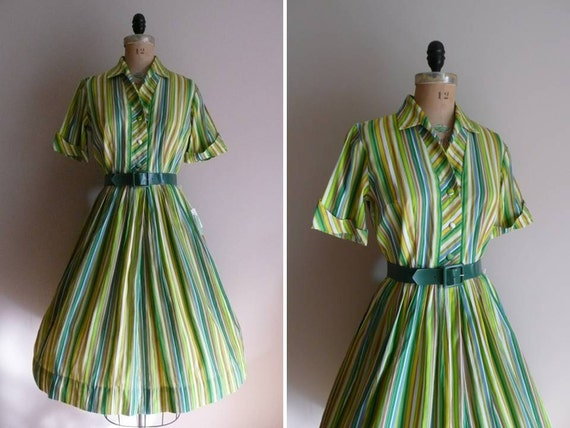 Vintage 1950s 1960s Dress NOS NWT Carol Cook