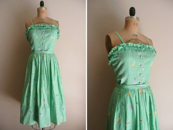 Vintage 1980s Albert Nipon Top and Skirt Set