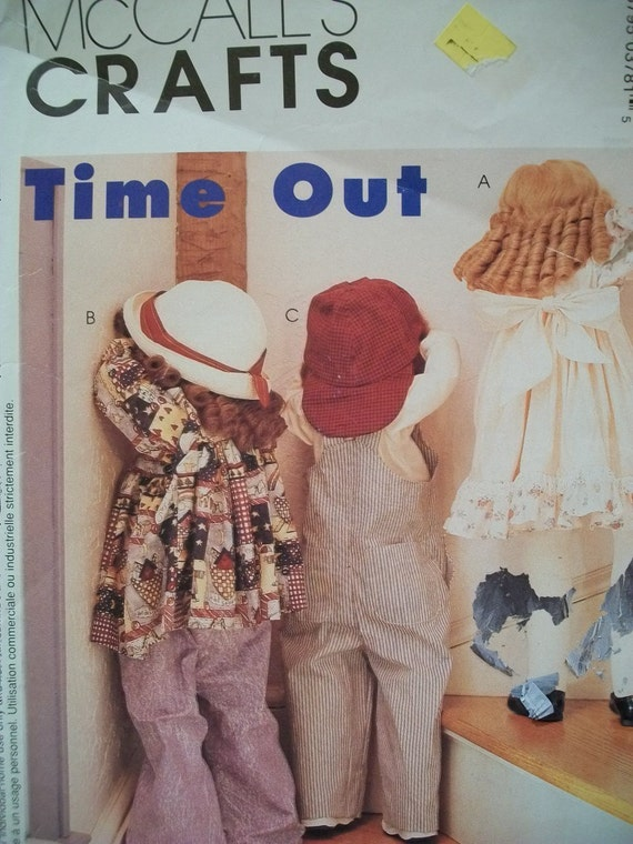 Pattern for Time Out Dolls