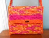Candy Colors Crochet Purse