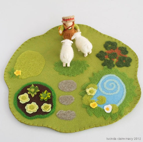Cottage Play Mat