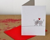 Thumbs In Love card