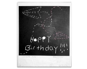 4 Happy Birthday cards