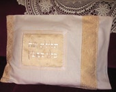 Sale-Pesach Table, Seder Cushion, Happy Passover, Passover Seder Pillow, Passover Table, Pesach Holiday -Original Embroidery Art From Israel