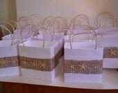 Elegant bridal  party favor bag