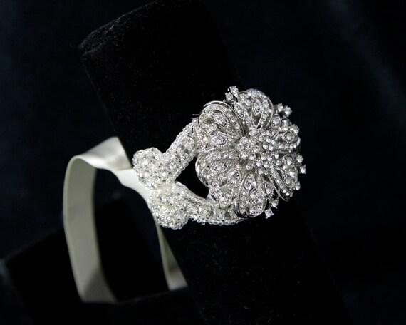 Crystal Bridal Bracelet - bridal accessories