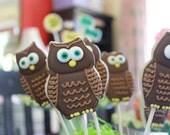 A Dozen Brown Owl Vanilla Sugar Cookies