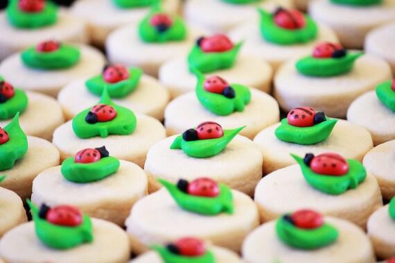 5 dozen Mini Ladybug Cookie Nibbles