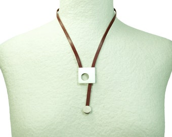 "Necklace ""Geometric"" Square"