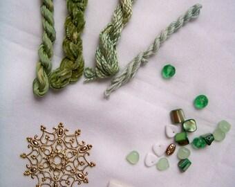 GREEN Embellishment Pack