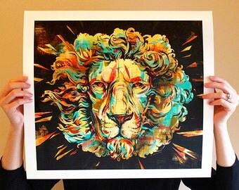 Lion (full size limited edition)