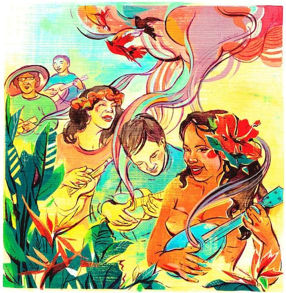 SALE: Hawaiian Ukulele Jam