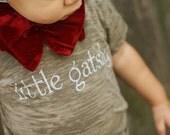 LAST ONE Little Gatsby Baby Burnout T Shirt 4T