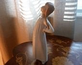 Lladro Nao Girl with Hands on Hips - Vintage Figurine