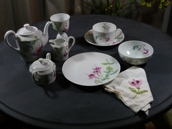 Limoges Breakfast in Bed set