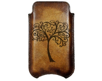 Tree of Life Apple iPhone Leather Sleeve