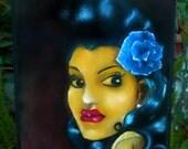 Latin Girl oil painting