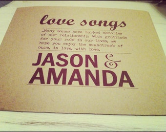 CD Holder- Antique/ rustic style wedding favor PDF