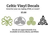 Celtic Vinyl Decals