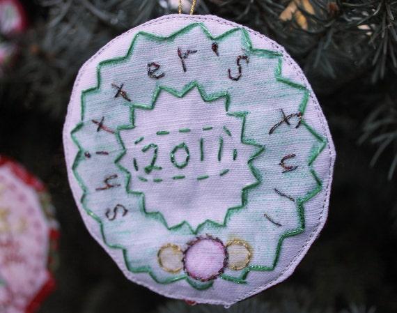 Sh%tter's Full - Cousin Eddy Christmas Wreath Ornament